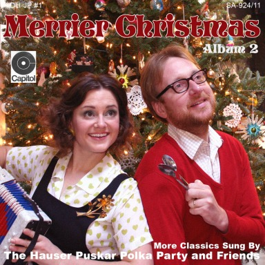 "This is our 2011 Christmas card ""album"".  Just a little teaser for what's to come!"