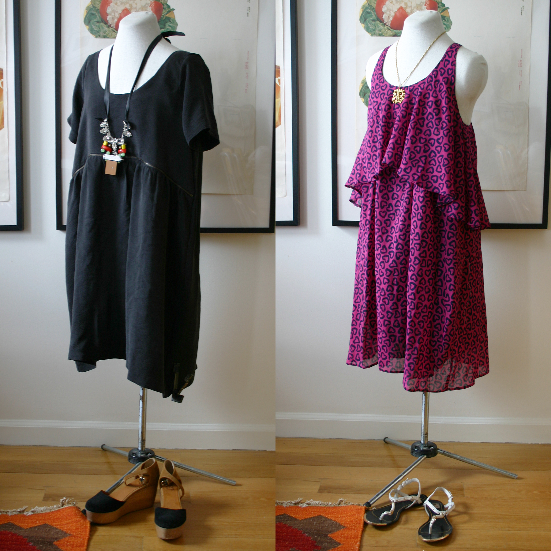 The dress access -  The Down Under These Two Are My Own Designs And Both Utilize The Under Breast Access Found In Many Nursing Tops And Dresses For The Dress On The Left