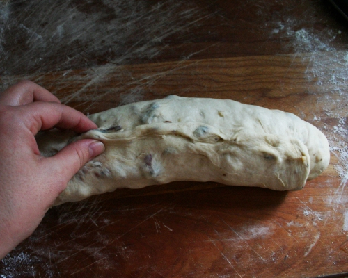 PInch the dough to seal in the goodness.